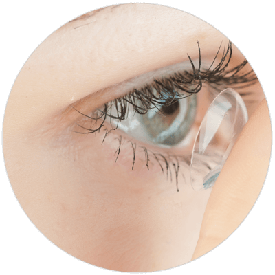 Contact lens fitting and payment options